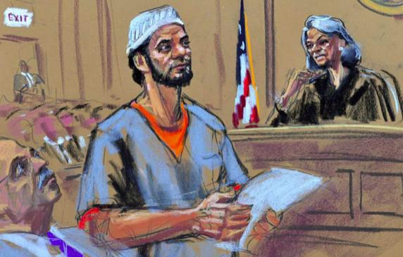 Condenado a cadena perpetua seguidor de EI por fallido atentado en Nueva York