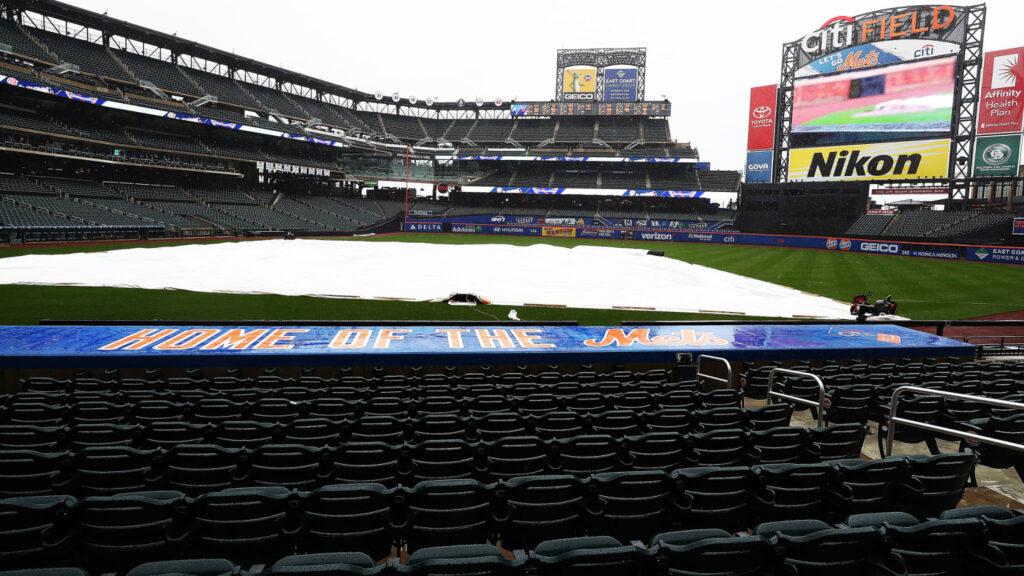 Mets y Filis suspendieron el primer juego de la serie por lluvia