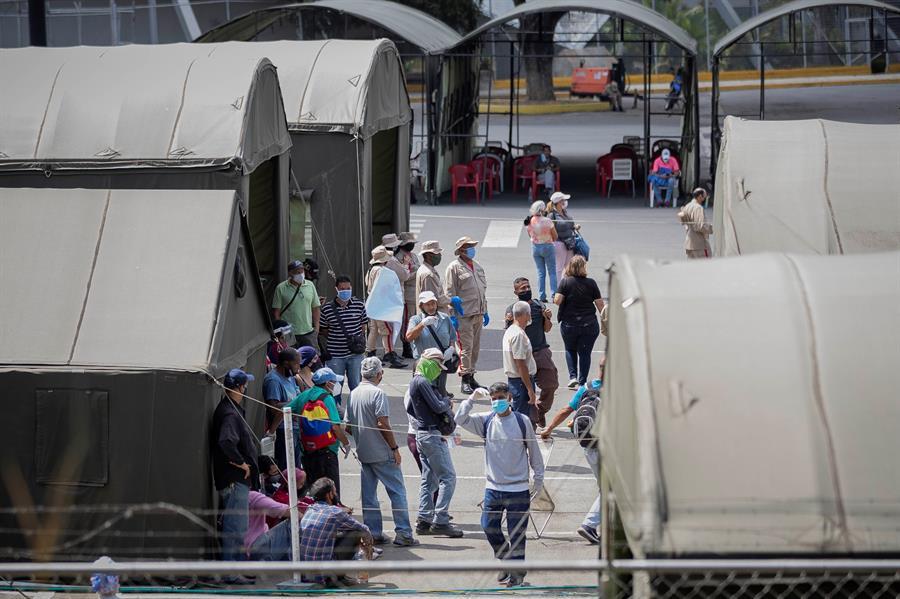 Venezuela cierra semana con 142 muertos por covid-19