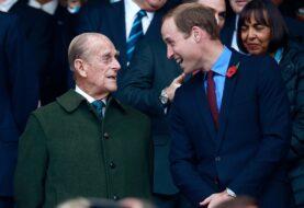 Guillermo realzó el ejemplo de su abuelo, el principe Felipe