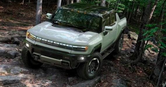 GM anuncia nueva pickup Hummer eléctrica