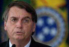 """Bolsonaro alerta que Brasil es """"un barril de pólvora"""""""