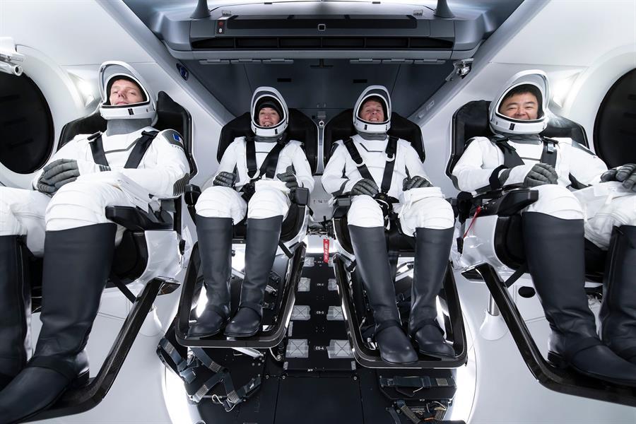 NASA y SpaceX lanzaron la segunda misión a la EEI