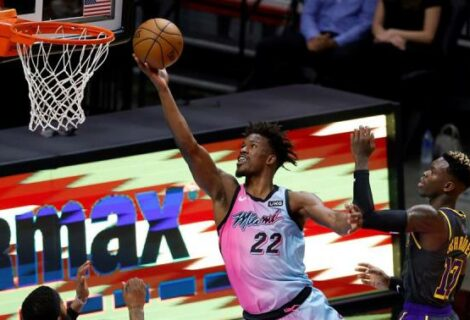 Heat vencen a unos diezmados Lakers
