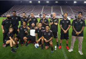 Estrellas latinas brillan en el estadio de Beckham