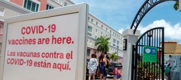 EEUU se marca objetivo de 160 millones completamente vacunados el 4 de julio