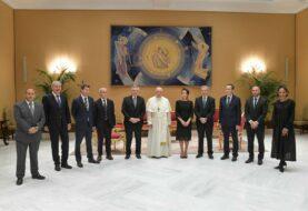 Fernández dijo que el papa expresó su voluntad