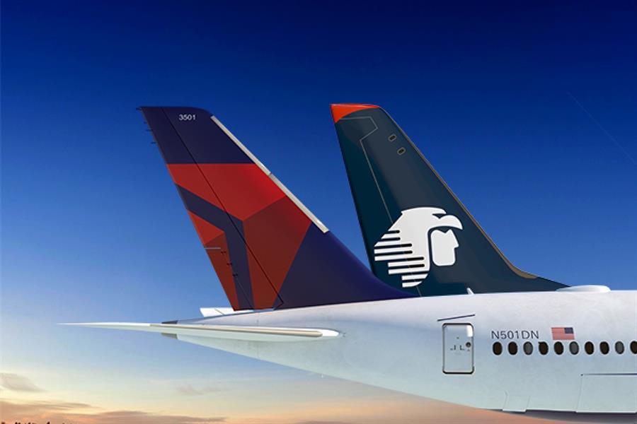 Delta y Aeroméxico cumplen 4 años de cooperación