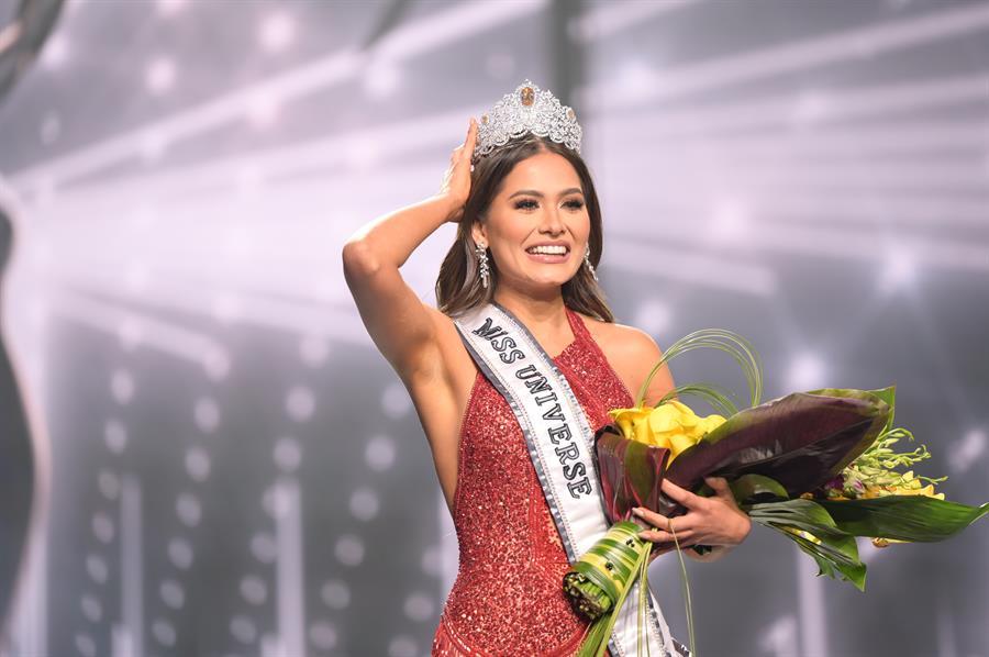 López Obrador felicita a la nueva Miss Universo mexicana