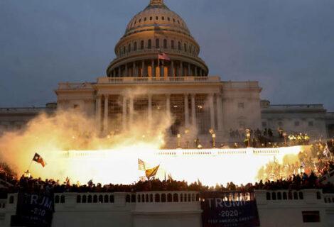 Refuerzan seguridad del Capitolio por manifestación