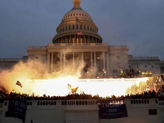 Congreso dividido sobre si investigar el asalto al Capitolio