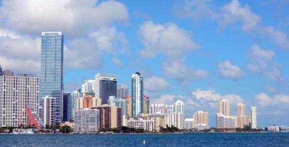 Prohíben nadar en área de la bahía de Miami por derrame de aguas residuales