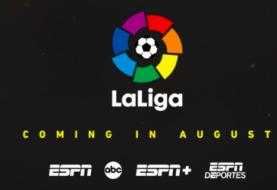 Acuerdo LaLiga-ESPN para la transmisión en EEUU durante ocho años
