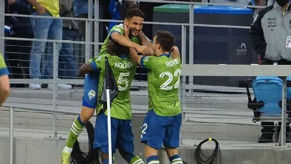 Sounders FC mantienen su racha ganadora en la MLS
