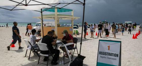 Gobierno dice que 2 millones de mexicanos han ido a EEUU a vacunarse de covid