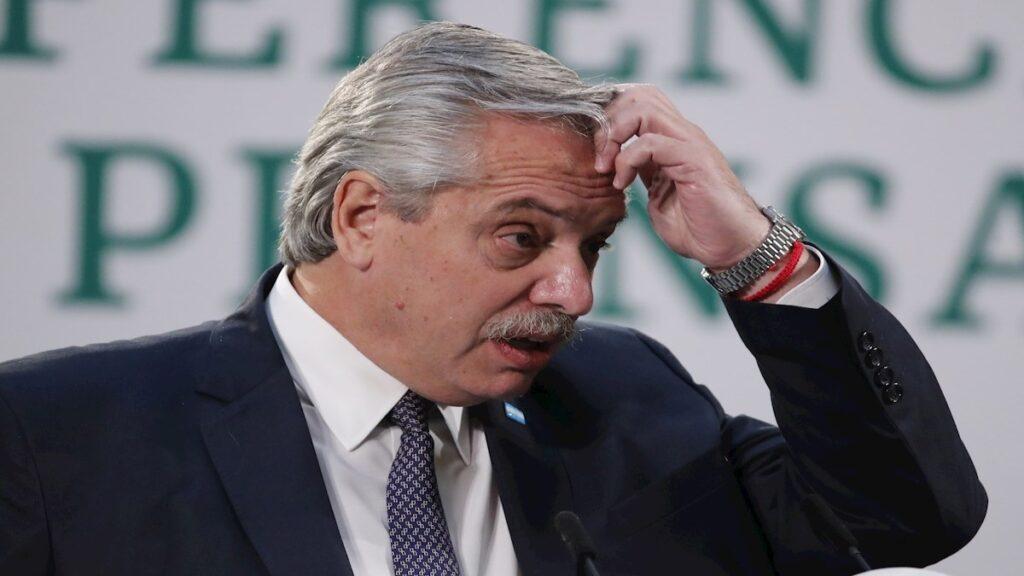 """Fernández pide a Duque colombiano que """"cese"""" la violencia"""