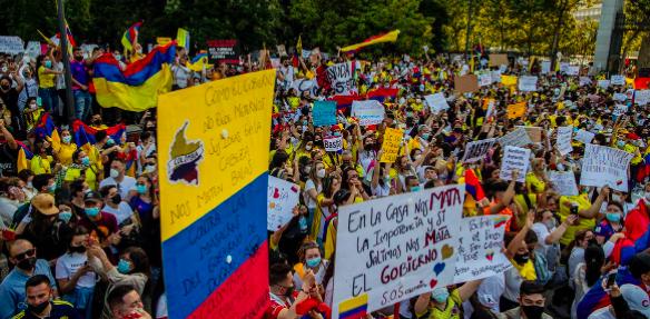 Colombia vive un nuevo paro con menor fuerza tras casi un mes de protestas