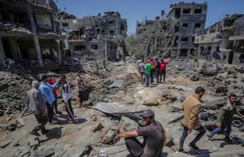 Enviado de EEUU llega a Israel para intentar mediar en la escalada con Gaza