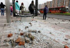 Al menos 91 heridos deja ataques a la Policía en Bogotá