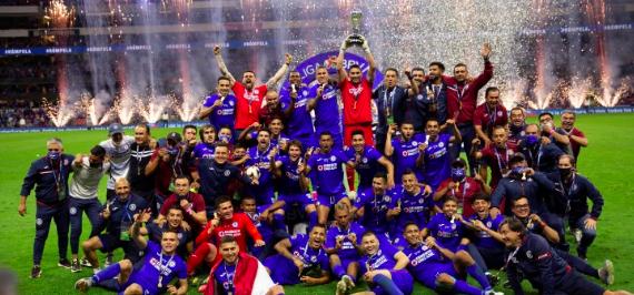 Cruz Azul es el campeón del fútbol mexicano y acaba con 23 años sin corona
