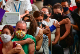 México iniciará vacunación anti covid-19 de personas de 40 a 49 años en junio