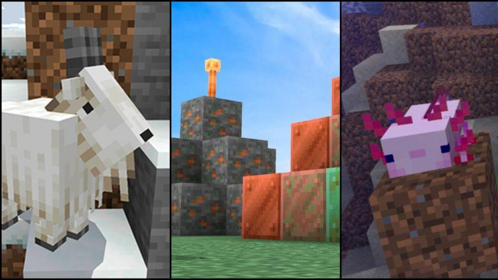 Minecraft 1.17 ya disponible con novedades