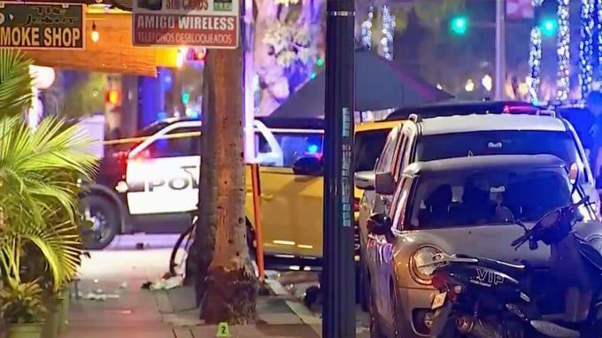 Varios detenidos y dos heridos en tiroteo en Miami Beach