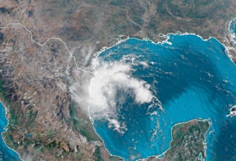 Potencial ciclón pudiera azotar la costa del Golfo de México