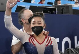Sunisa Lee gana medalla de oro en gimnasia