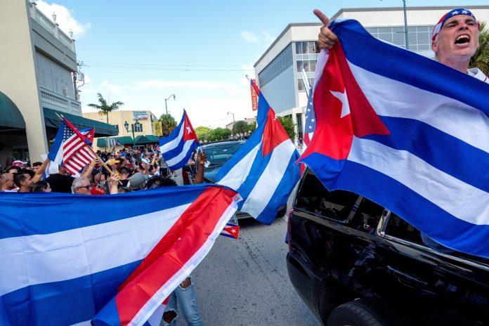 Cubanos de Miami mandan un mensaje contundente