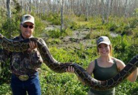 """Autoridades dan comienzo a el """"Florida Python Challenge"""""""