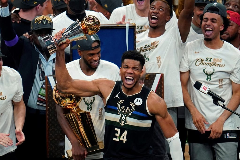 Giannis, un héroe modesto para el Olimpo de la NBA