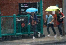 Tormenta Elsa descarga fuertes lluvias en Nueva York