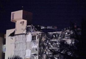 Nuevos videos de la caída del edificio en Miami