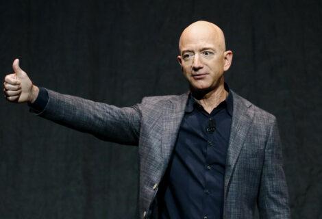 Jeff Bezos se lanza al espacio