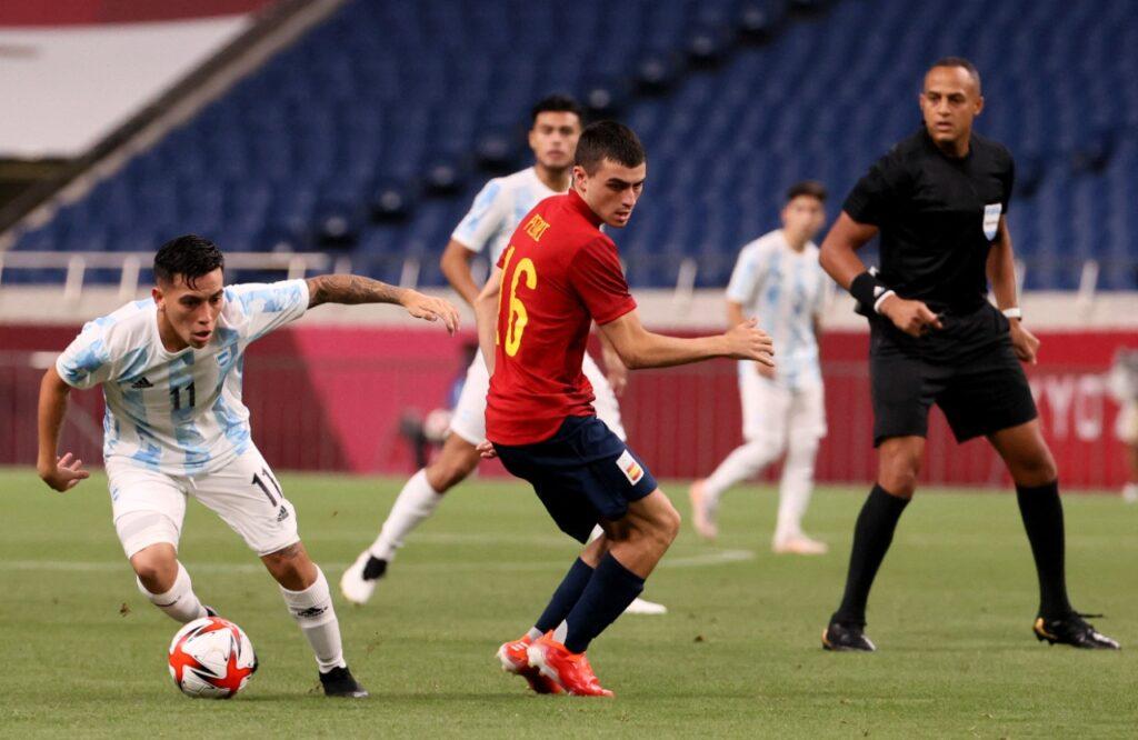 Tokio 2020: España y Argentina empataron y se definieron los cuartos en fútbol