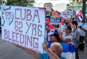 Exilio en Miami no cede sus protestas de calle