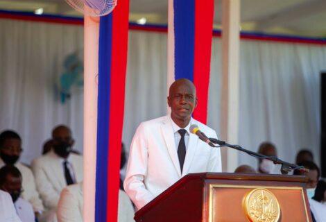 Sepultaron a mandatario Jovenel Moise en Haití