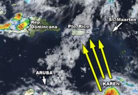 Alerta por tormenta tropical en Puerto Rico y otras islas
