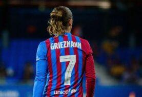 Griezmann cumplió 100 partidos con el Barcelona