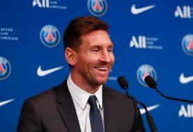 Messi fue oficialmente presentado en el PSG