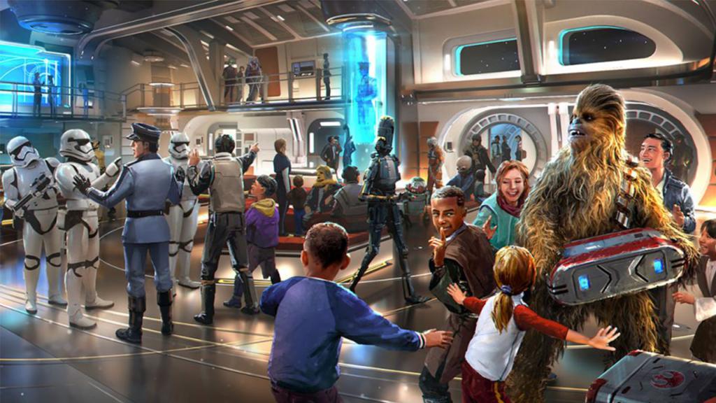 Hotel de atracción Star Wars de Disney abre las puertas
