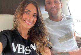 Messi y Antonella ya viajan a París