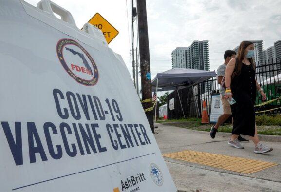 Florida sobrepasa en un día los 20.000 contagiados de covid
