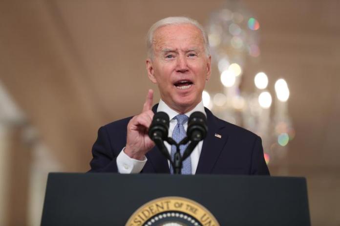 """Biden: """"Estados Unidos se ha dado cuenta que la crisis climática es real"""""""