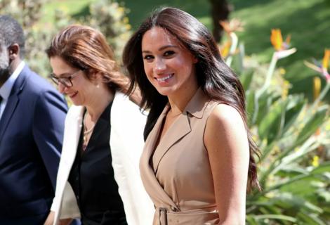 Meghan recibe felicitaciones de la reina por su cumpleaños
