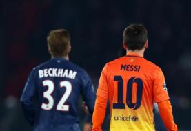 David Beckham con los ojos puestos en Messi