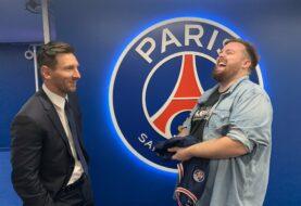 Messi habló con Ibai Llanos tras su presentación