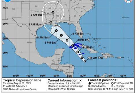 Ida amenaza con mayor potencia a Cuba