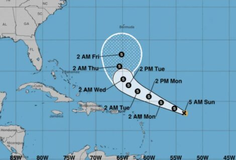 Peter se degrada en depresión al norte de Puerto Rico